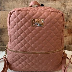 "🌻Bebe ""Danielle"" Backpack Blush Color NWT 🌻"
